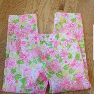 Lilly Pultzer Palm Beach Fit Capris